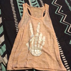 Small tanktop, Charlotte Russe, only worn once